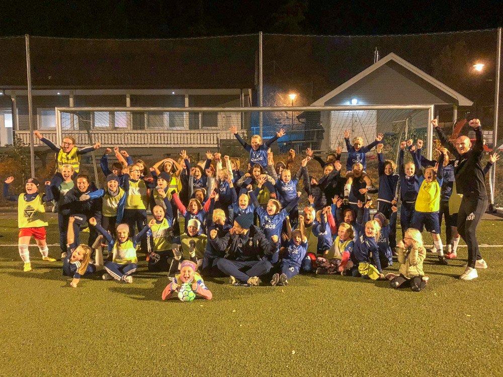 Snakk om idrettsglede på Nesøya! Tusen takk for oss!