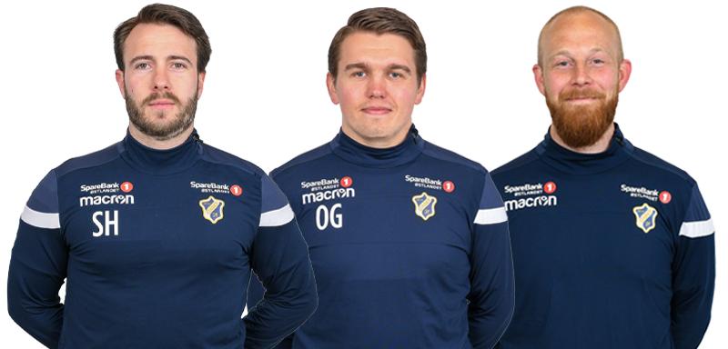 Ingvild Stensland, Ole Gåseidnes, og Kim André Pedersen