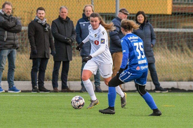 #14 Kaja Aasly Haartveit, preseason 2020 mot Sandefjord