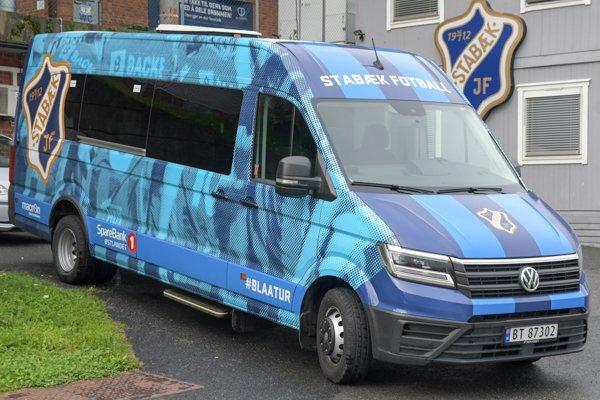 Stabæks nye #blaaatur-buss