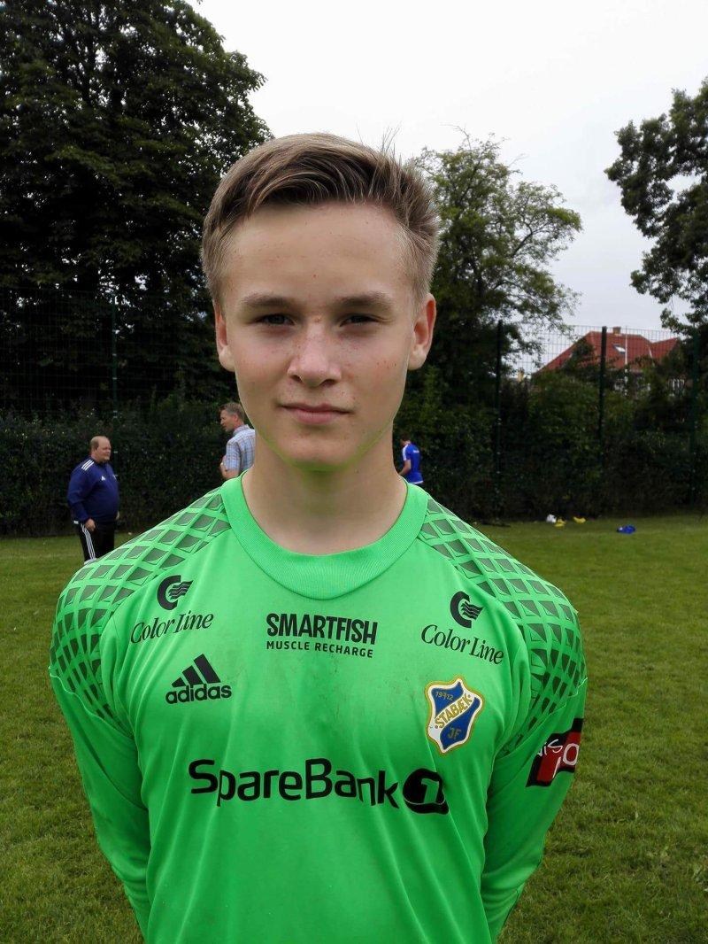 HOSPITERTE: Marius Ulla var med Stabæk-akademiet til København i fjor.