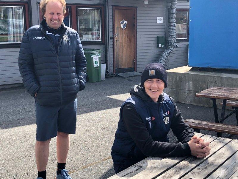 Espen Lindmark og Daniel Gundersrud