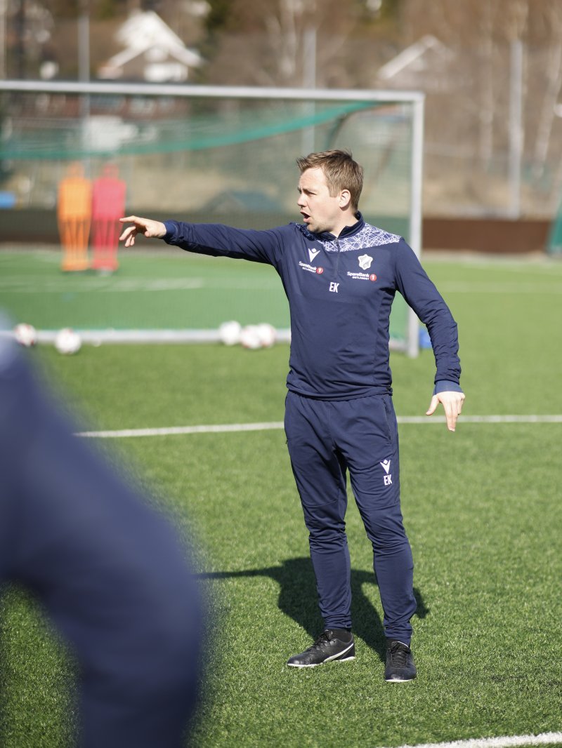 Eirik Kjønø har kommet godt i gang på Stabæk-feltet