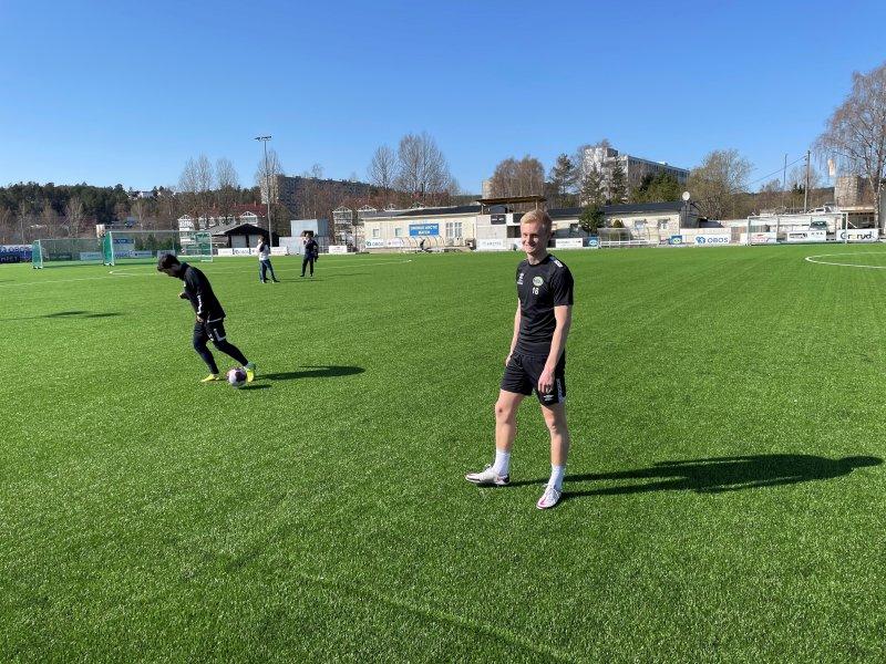 Oscar Aga dro fra Stabæk til Grorud og nyter stor suksess på østkanten.
