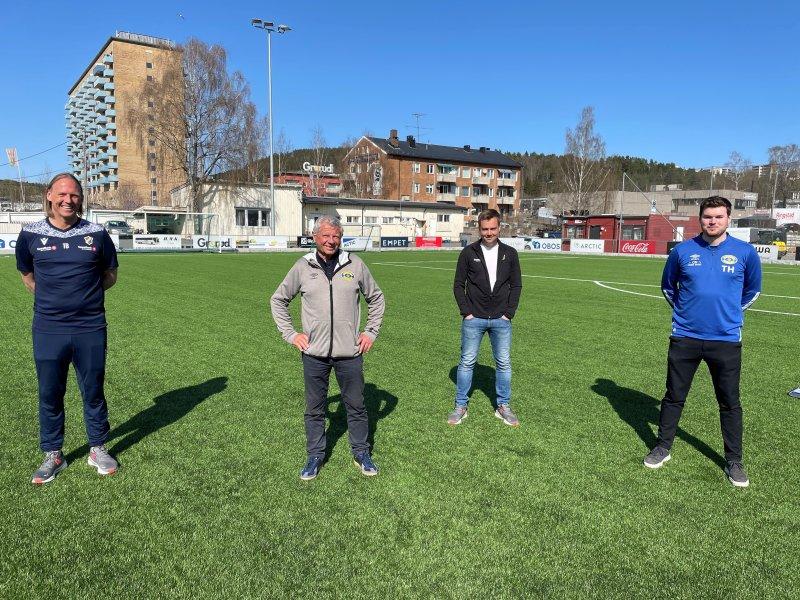 F.v: Torgeir Bjarmann, Richard Pedersen, Eirik Kjønø og Torgeir Helgen